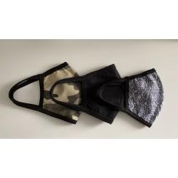 Трислойна маска за защита